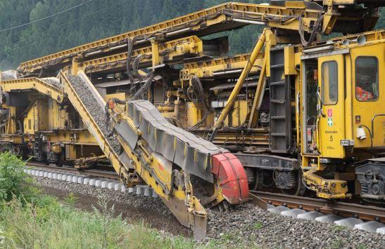 RU 800 S Robot ferrovie