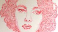 """Alexis Fraser artista di Toronto ha dato alla frase """"truccatrice"""" un significato tutto nuovo. Realizza ritratti incredibilmente dettagliati baciando la tela, lasciando le impronte di rossetto solo nei posti giusti. Alexis Fraser è specializzata nella pittura a olio, ma ha anche imparato una forma d'arte unica che lei chiama """"bacio […]"""