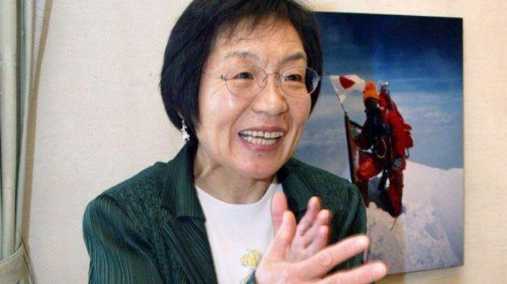 Junko Tabei prima donna a scalare l'Everest