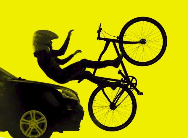Hövding airbag ciclisti