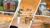 """Fiction Factory studio olandese, recentemente ha svelato una casa modulare costruita con cartone stratificato, anche se questo non è proprio un materiale da costruzione, gli architetti sostengono che la casa potrà durare fino a 100 anni, una dichiarazione piuttosto audace. La casa si chiama Wikkelhouse (si traduce in """"casa incartata"""") […]"""