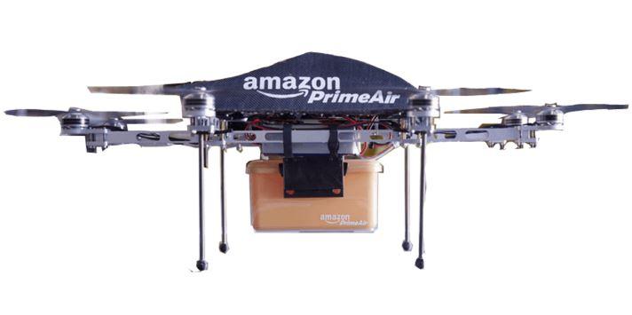 Amazon consegna pacchi servizio drone Prime Air