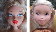 Stanca dei look glamour e il make-up delle bambole Bratz di sua figlia, una mamma creativa ha deciso di rimuovere il make-up delle bambole per renderle più simili a bambine. Sonia Singh australiana ha detto: «Io e le mie sorelle nel bellissimo ambiente naturale della Tasmania siamo cresciute a giocare […]