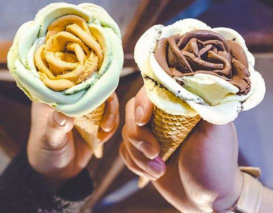 I-Creamy gelato fiore