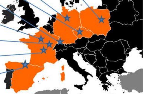 Nube radioattiva in Europa