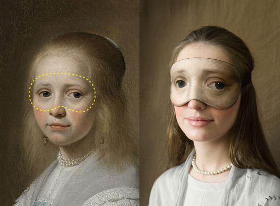 mascherine artistiche per gli occhi