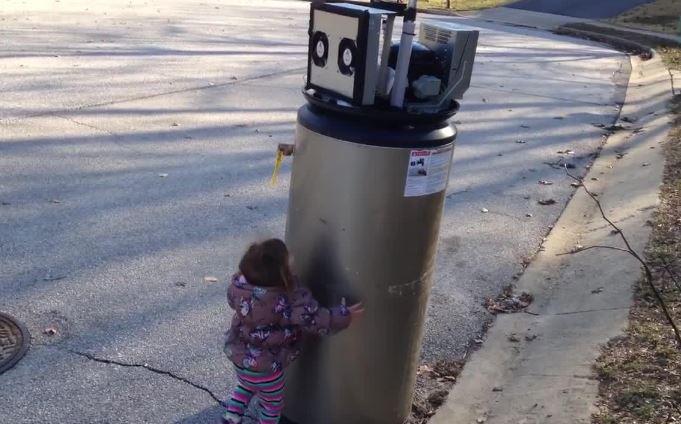 Rayna scaldabagno robot