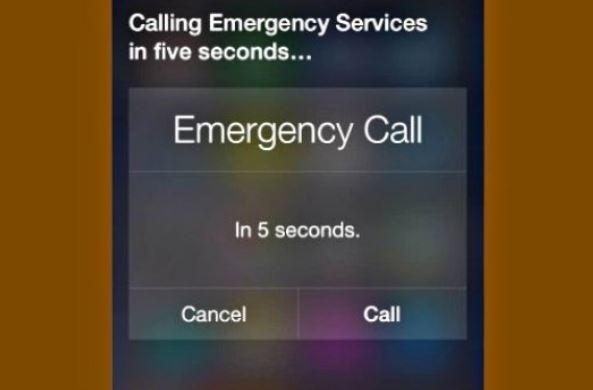 Siri chiamata emergenza