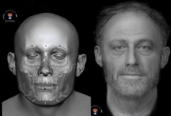 Tecnica riconoscimento facciale ricostruisce volto di un uomo vissuto nel medioevo