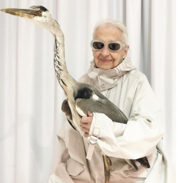 Ernestine Stollberg, modella di 95 anni
