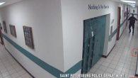 Avete mai visto un corpulento poliziotto temere una minuscola creatura come un topo? Beh, nel seguente video c'è tanta musofobia, la paura intensa e incontrollata che si ha dei topi, manifestata dal fobico agente di polizia in uniforme ripreso dalla videocamera di sorveglianza all'interno dei locali dello St Petersburg Police […]