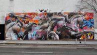 Pichi & Avo artisti spagnoli, lo scorso febbraio hanno lasciato le loro impronte sull'iconico Bowery Graffiti Wall,si trova sulla Houston Street, una delle principali street di Manhattan a New York. Informazioni sul murale I due artisti hanno dovuto affrontare temperature gelide e utilizzare la gru per realizzare con il loro […]