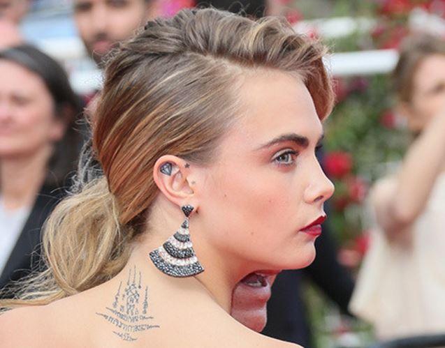 tatuaggio dell'orecchio