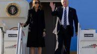Melania Trump pochi giorni dopo aver schiaffeggiato la mano del marito in una Gif virale vista in tutto il mondo (è accaduto a Tel Aviv mentre la coppia si allontanava dall'aereo presidenziale Air Force One), questa volta a Roma, prima di scendere dalla scaletta dell'Air Force One, ancora una volta […]