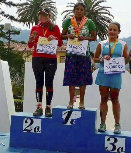 María Lorena Ramíez maratona
