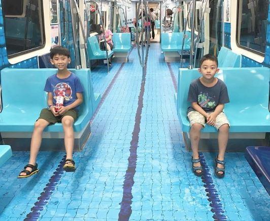 Vagoni metropolinata Taipei - Universiade Estiva 2017