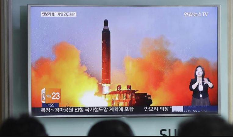 Corea del Nord lancio missile balistico