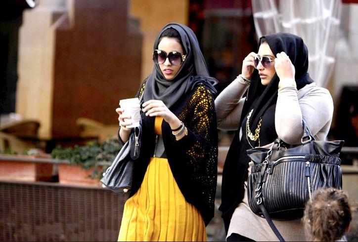 Turisti musulmani a Interlaken Svizzera