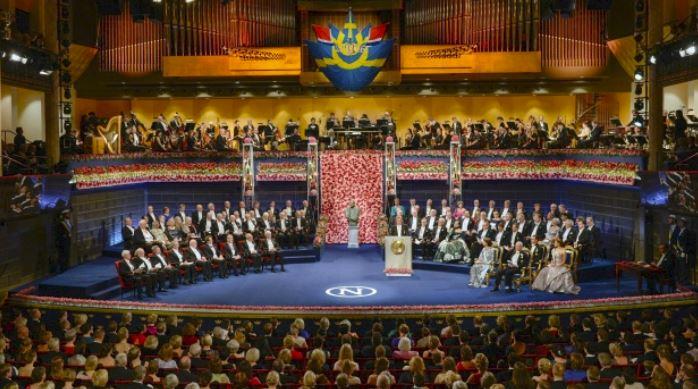 Assemblea dei Nobel riunita al Karolinska Institute di Stoccolma