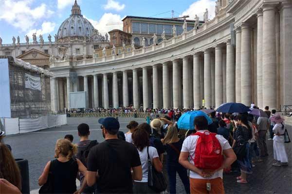 Vaticano-turisti