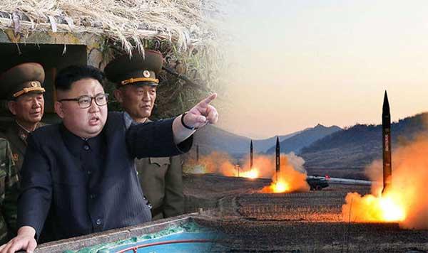 Kim Jong Un lancio missili intercontinentali