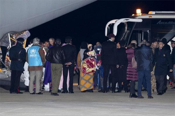 Migranti evacuati dalla Libia arrivati in Italia