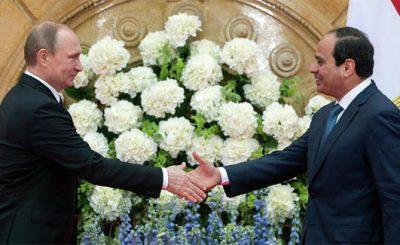 Putin accordo Egitto per costruire centrale nucleare
