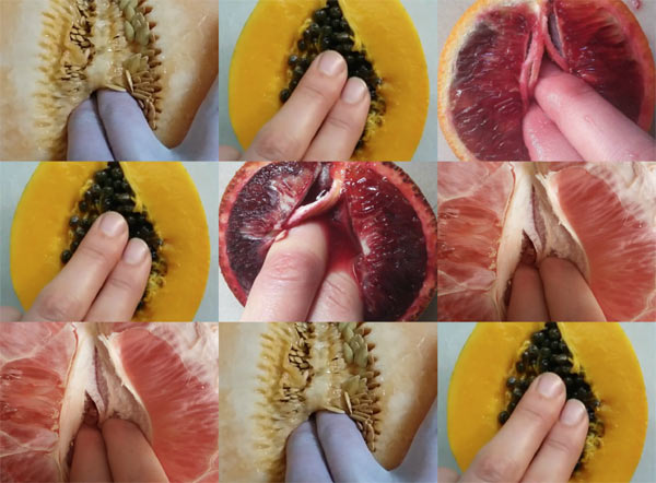 Fruit Fingering di Stephanie Sarley