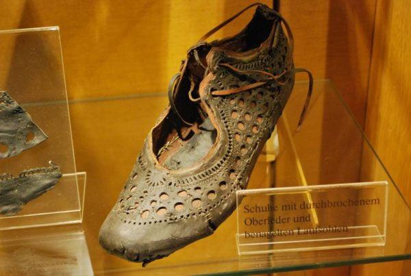 Museo Saalburg antica scarpa