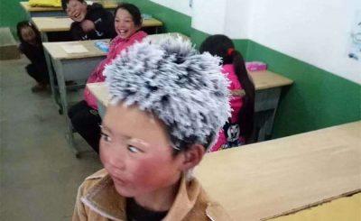 Wang Fuman alunno cinese