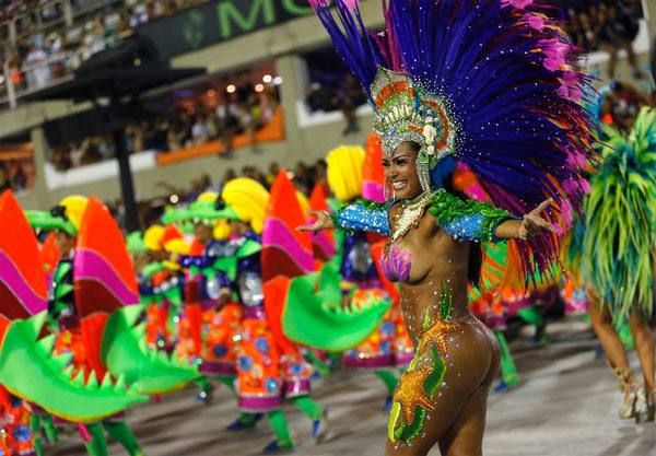 Carnevale Rio de Janeiro 2018