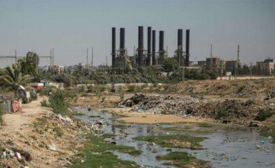 Striscia di Gaza liquami
