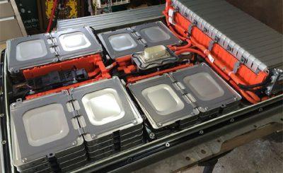 Batterie veicoli elettrici riciclate