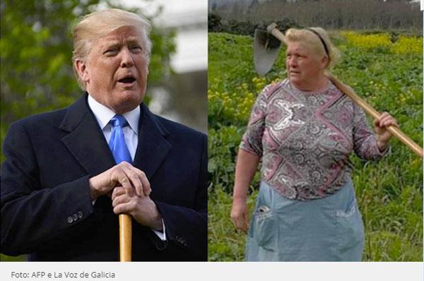 Trump e Dolores Leis Antelo