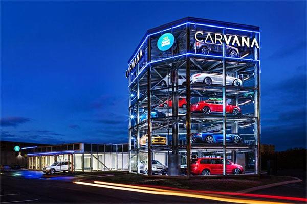 Carvana distributore automatico macchine