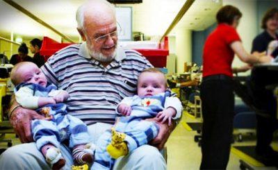 James Harrison donatore di plasma per salvare neonati