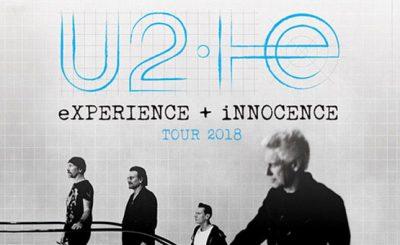 """U2 tour """"Experience + Innocence"""""""