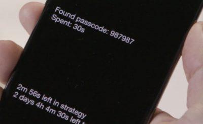 Apple sblocco forzato GrayKey