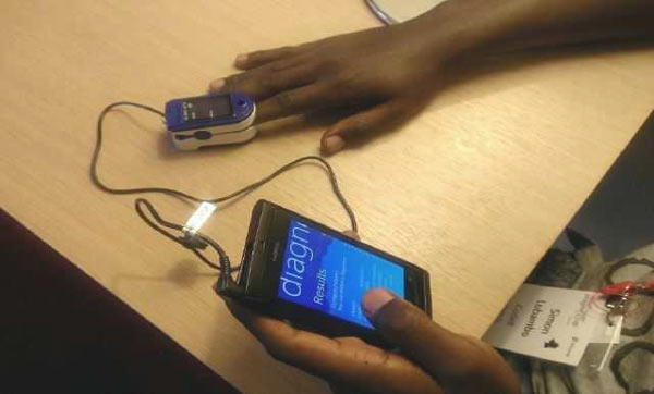 Matibabu dispositivo per rilevamento malaria