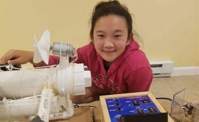 Anna-Du robot per individuare microplastiche