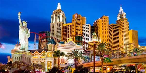 Statua della Libertà a Las Vegas