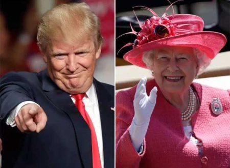Donald Trump durante l'incontro con la Regina Elisabetta potrebbe offenderla infrangendo 8 regole del protocollo
