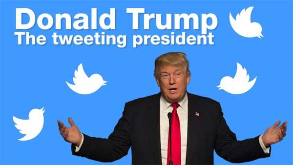 Donald Trump presidente di Twitter