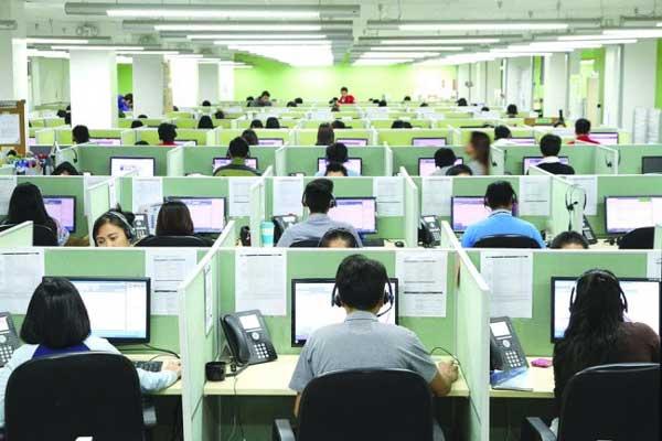 Filippine call center