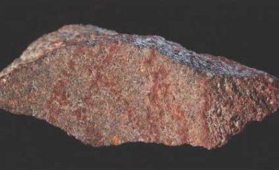 Frammento di pietra con il disegno più antico fatto dall'uomo