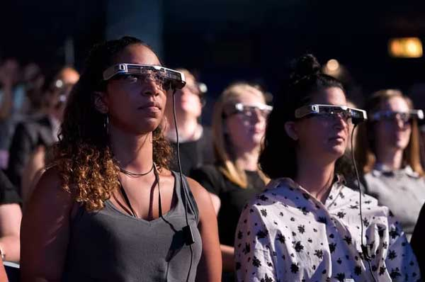National Theatre Google Glass Explorers