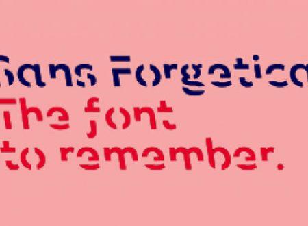 Scaricabile gratuitamente Sans Forgetica il nuovo font che ti aiuta a ricordare ciò che leggi