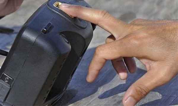 scansione biometrica