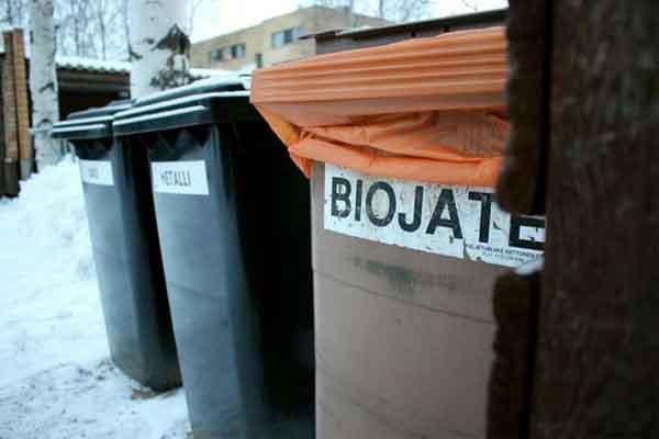 Finlandia rifiuti