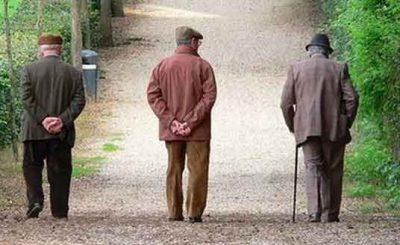 Invecchiamento popolazione